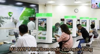 Mã SWIFT/BIC/Iban code của ngân hàng Vietcombank – VCB
