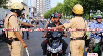 Năm 2021 không có bảo hiểm xe máy phạt bao nhiêu tiền?
