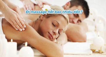 Đi massage hết bao nhiêu tiền, có bị lây bệnh không ?