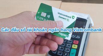 Tổng hợp các đầu số tài khoản của ngân hàng Vietcombank