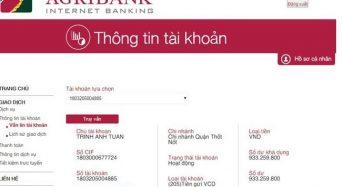 Cách kiểm tra lịch sử giao dịch Agribank bằng tin nhắn