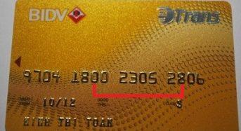 Mã số khách hàng BIDV là gì? Lấy ở đâu? Cách sử dụng